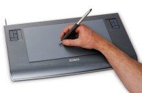 The advantages of a Wacom tablet.