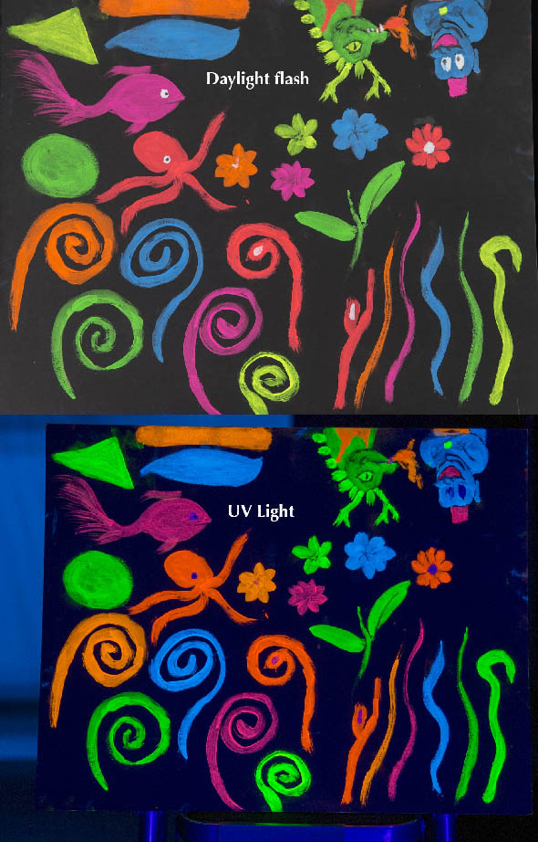 UV & Daylight compare
