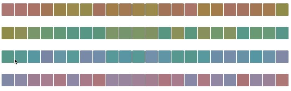3 - 100 hue test