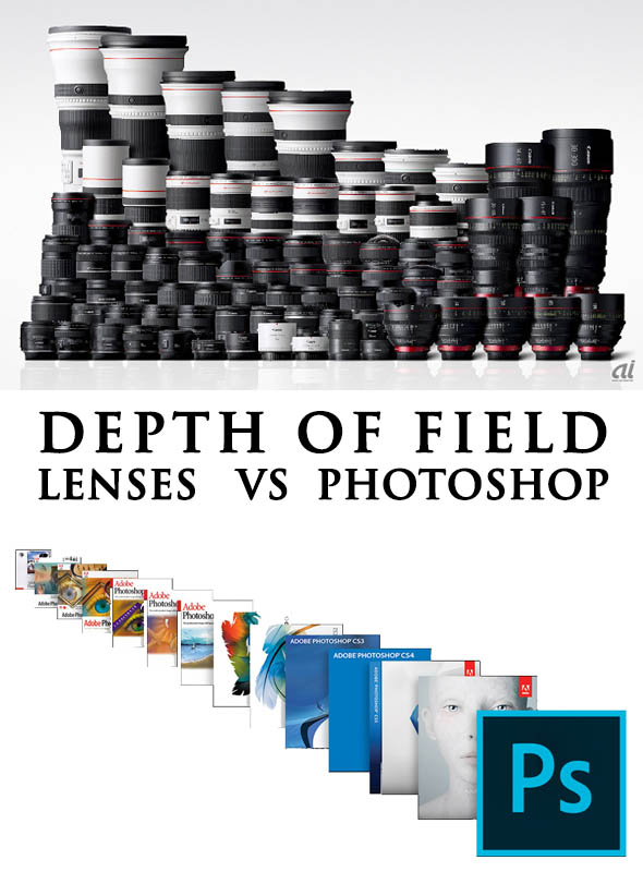 LENSES VS PHOTOSHOP